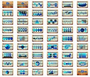 交通银行工作汇报工作总结55页动态PPT模板20150104A