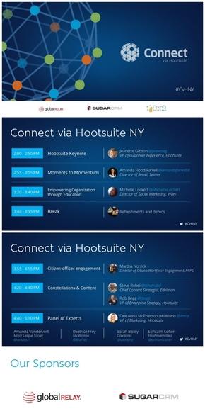 【演界网独家】蓝色科技网格会议PPT《用hootsuite进行沟通》
