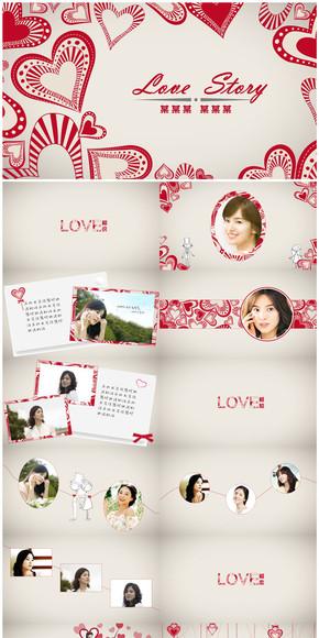 【love story】爱的故事情人节电子相册
