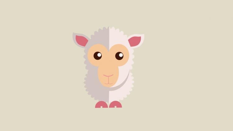 小动物手绘素材
