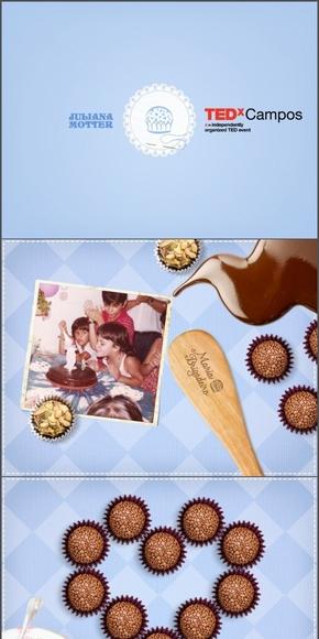 【演界网独家PPT】夏日巧克力风味模板