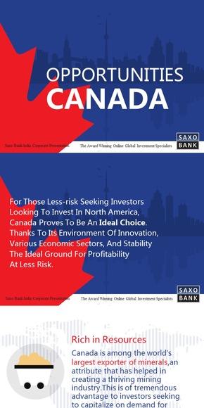 【演界网独家PPT】加拿大的机遇