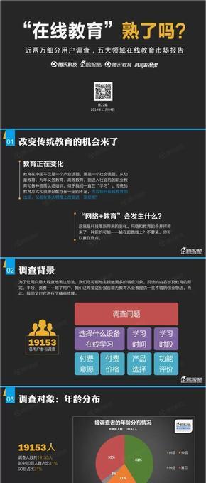 【演界信息图表】黑白-在线教育熟了吗
