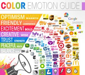 【演界网独家信息图表】扁平化-那些影响我们心情的logo颜色