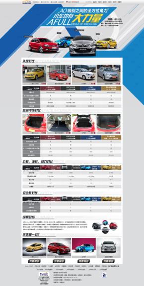 【演界信息图表】海报时尚-AO级别之间的全方位角力 POLO、北京汽车E系列、瑞纳、MG3