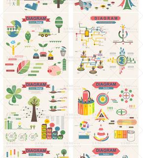 【演界信息图表】彩色扁平化-农业信息图表