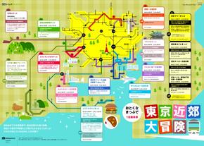 【演界信息图表】多彩扁平-东京附近游玩好去处