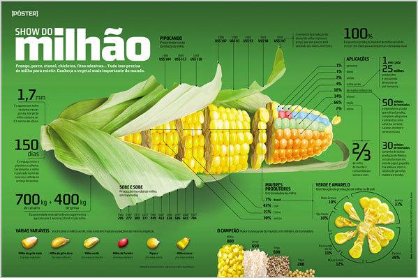 【农业银行ppt素材】【演界信息图表】绿色清新-玉米