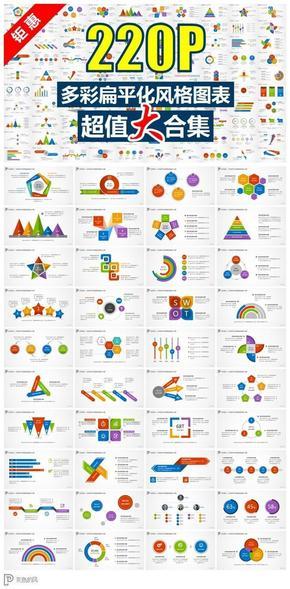 【演界信息图表】多彩-扁平化风格信息图表大合集