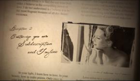 温馨怀旧的婚礼记忆相册AE模板(代渲染)