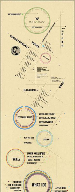 【演界信息图表】设计牛皮-简历