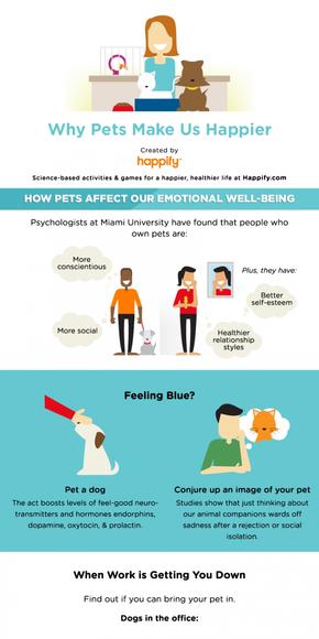 【演界信息图表】日常生活-宠物为什么能让我们高兴