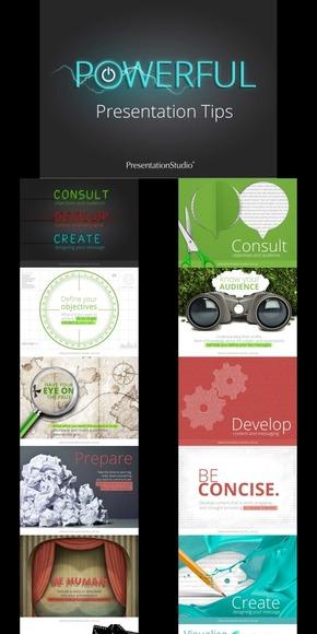 【演界网独家PPT】强大的演示设计技巧-欧美全图型场景感创意PPT