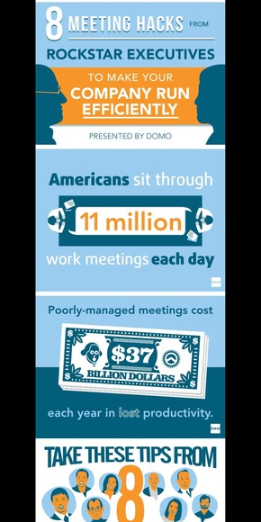 【演界网独家PPT】如何高效会议管理-欧美卡通扁平化风格PPT