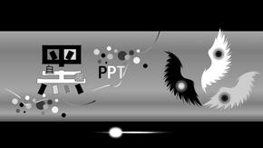 黑白灰简洁PPT模版