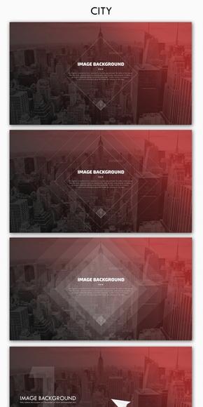 【不二诚品】简约高端商务系列-01《CITY 》