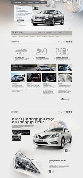 【演界信息图表】3D写实-现代汽车