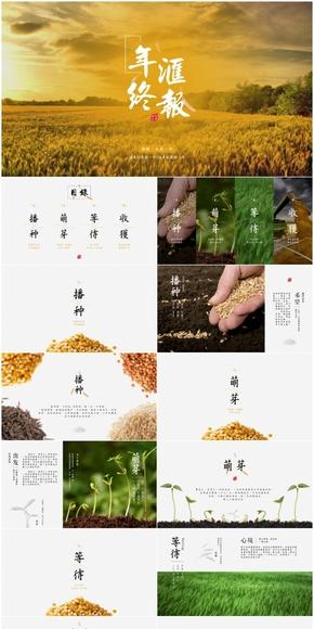 中国风年终汇报-杂志般精美