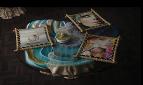 缠线木框艺术展览效果ae相册(代渲染)