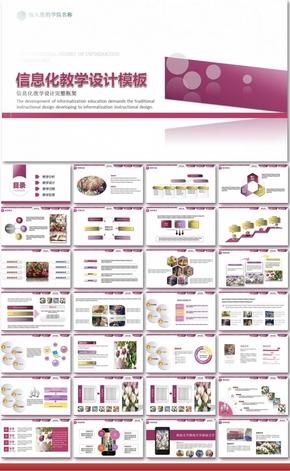 2016 信息化教学设计PPT课件模板全国 高中职课堂大赛-锐普大赛 PPT