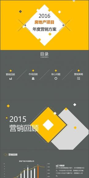 房地产行业通用年度营销总结方案模板
