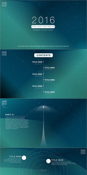 【珞珈】极致美学keynote作品04-《DREAM》