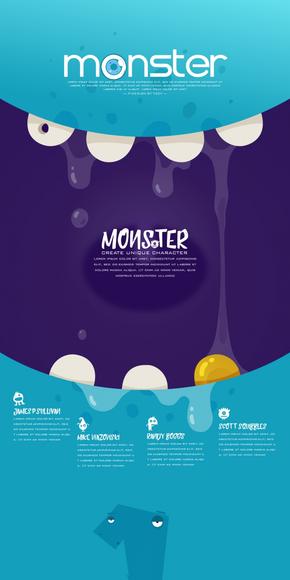【椰子的叶】Little Monster