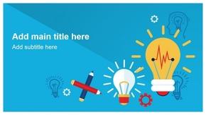 「超值300页」「SEO头脑风暴」创意创新方案设计营销推广PPT模板