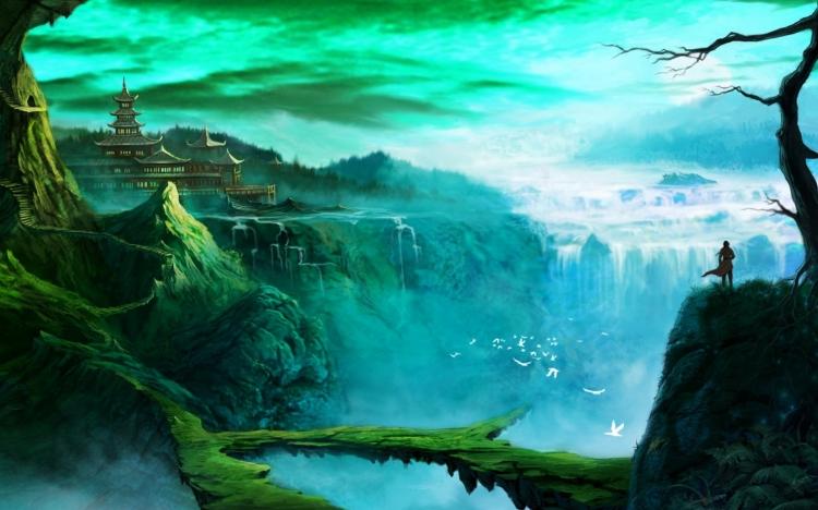 作品标题:【图片分享计划】饿了的狮王_1089 风景 魔幻 山脉
