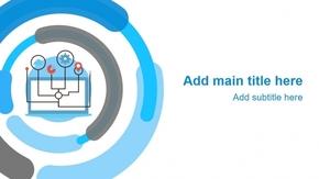 「物联网万物网」智能连接网络信息通讯技术分析PPT模板