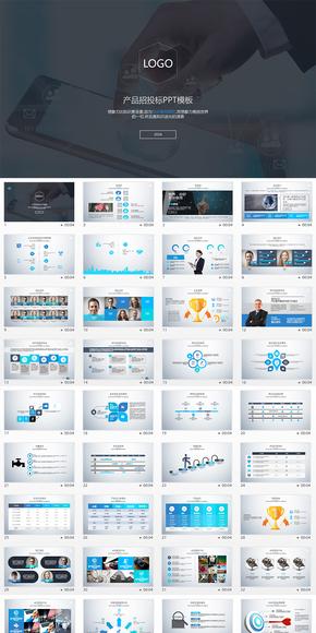 互联网软件产品招投标、产品报价PPT模板