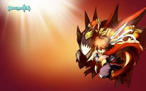 【海报分享计划】饿了的狮王_0609 小孩 卡通