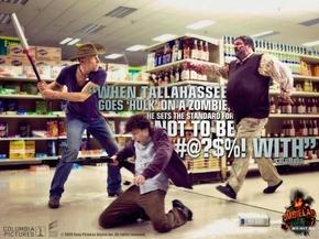 【海报分享计划】饿了的狮王_0903 超市 打架