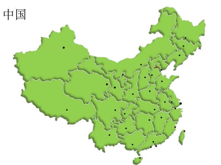 中国地图及所有省市矢量图