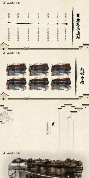 中国风 城市记忆