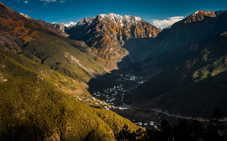 作品标题:【桌面壁纸】西藏美丽风光高清11 作品标签: 西藏雪山风景