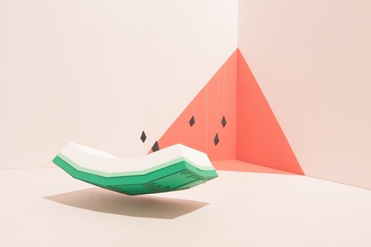 【桌面壁纸】夏日记忆可爱西瓜2
