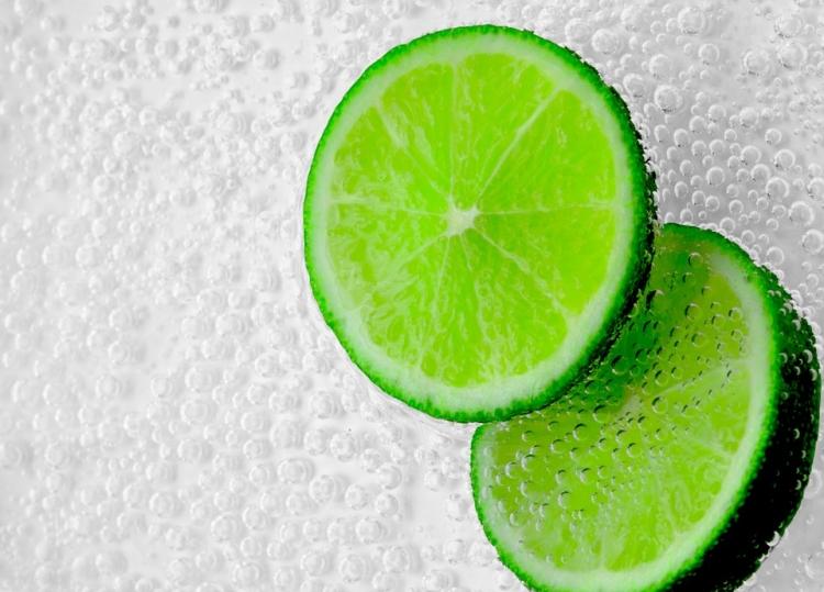 【桌面壁纸】清凉绿色柠檬