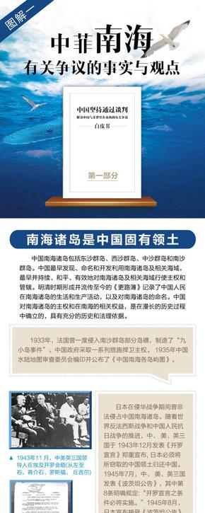 【演界信息图表】扁平简约-中菲南海争议事实