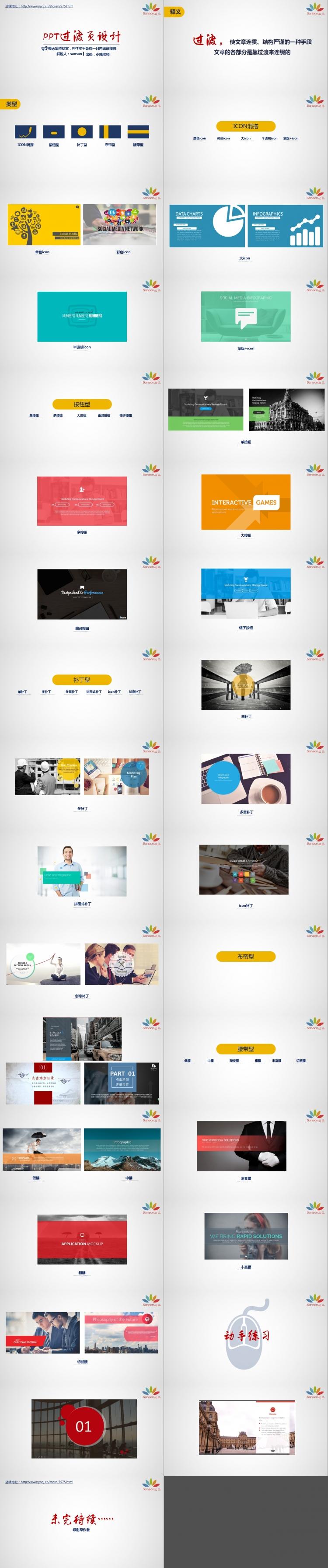 【ppt教程】-ppt過渡頁設計
