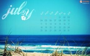 【桌面壁纸】海边美景日历