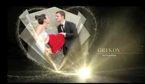 浪漫的粒子婚礼包装素材AE相册(代渲染)