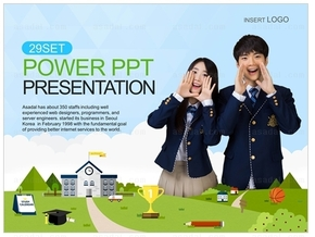 青少年教育PPT模板_2404193