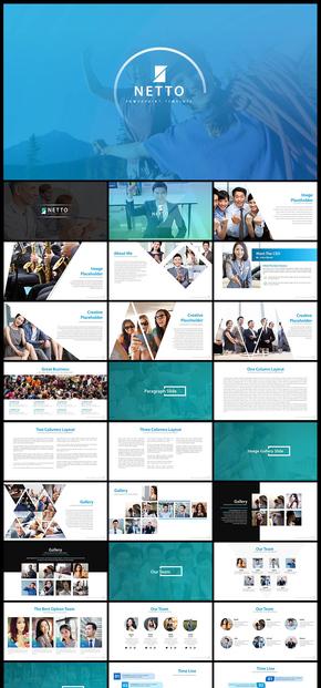 欧美风商务团队介绍工作总结汇报工作计划商业计划企业介绍企业宣传商务汇报PPT模板