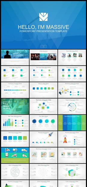 欧美风精美图形设计企业介绍公司简介商业计划创业计划工作汇报计划总结产品发布等多用途企业PPT模板