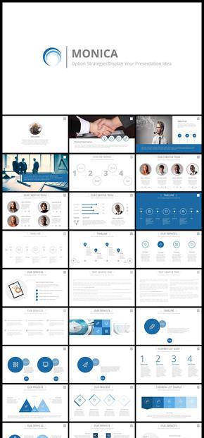 欧美风大气简约工作报告商务汇报工作总结年终总结新年计划企业宣传企业介绍PPT模板