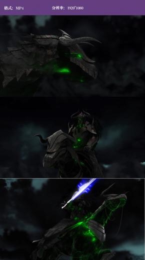 中世纪黑暗骑士(绿款)