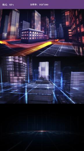 虚拟光线城市视频