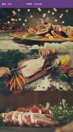 顶级美食工艺切菜制作视频