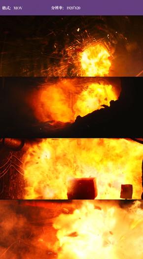 震撼爆炸特效视频